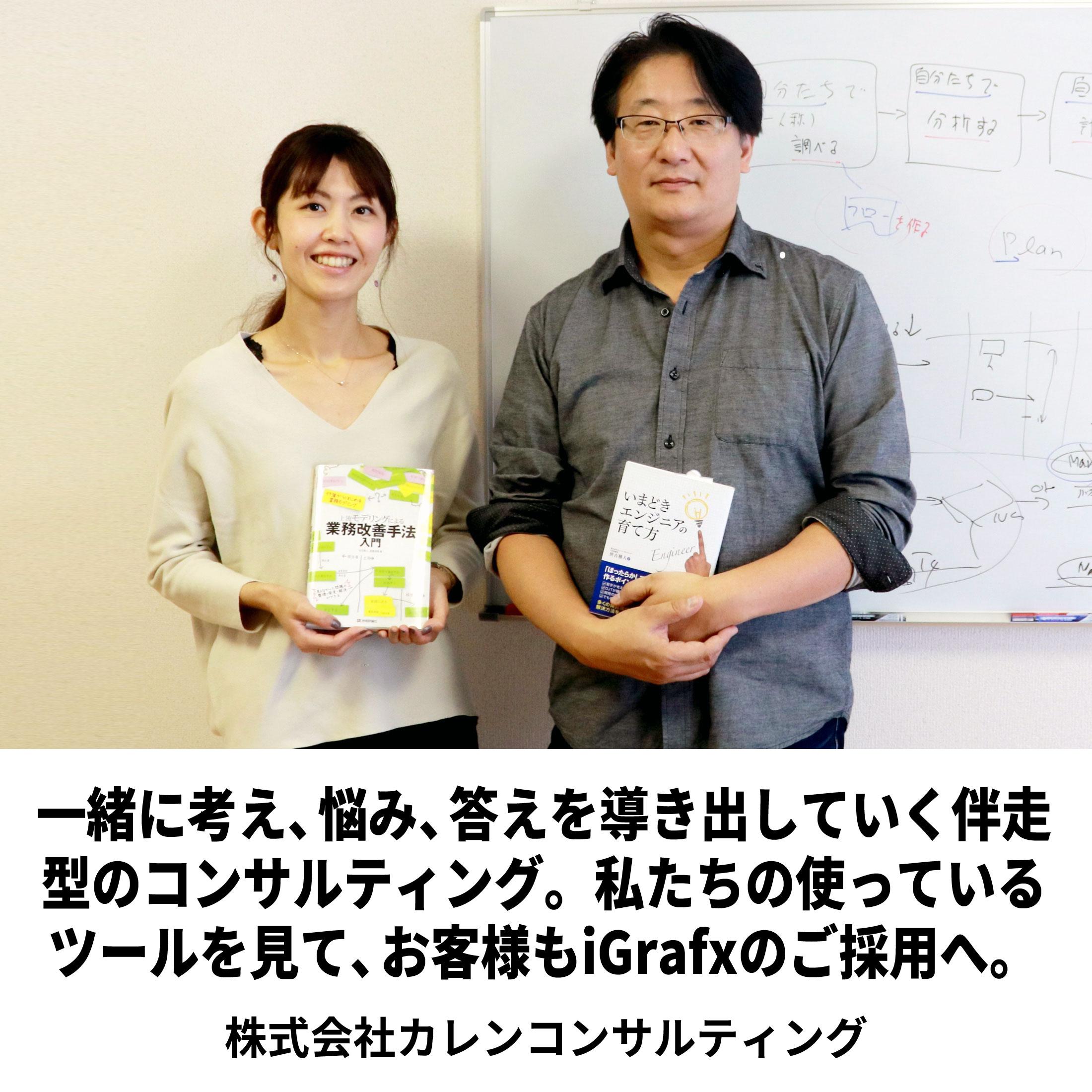【事例ナビ】コンサルで活用する業務可視化ツールiGrafx-カレンコンサルティング様
