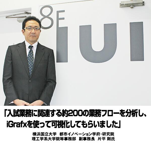 【事例ナビ】入試に関する200業務を可視化 – 横浜国立大学様